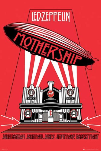 Empire Led Zeppelin-Mothership', Póster Solo, 61x91.5cm