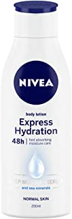 NIVEA Body Lotion, Express Hydration, For Normal Skin, 200ml
