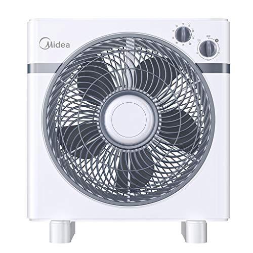 LHY Ventilador eléctrico de sobremesa for el hogar Cabeza de Movimiento silencioso Ventilador de Piso Que sincroniza el Ventilador de Mesa Vertical