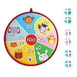 LATTCURE Diana infantil con velcro y 6 pelotas de velcro, juego para...