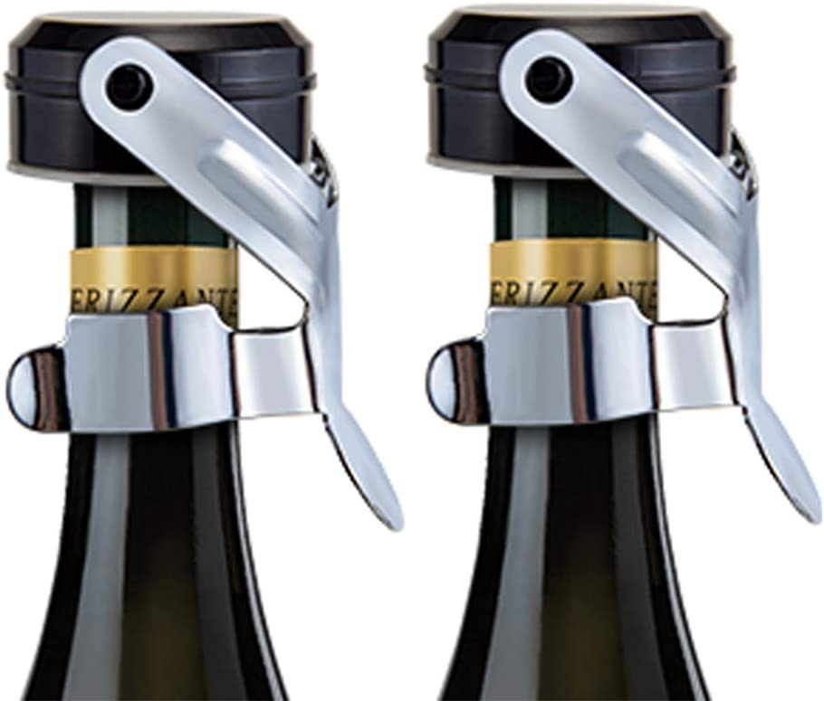 DIFENLUN Champagne Some reservation Stopper 2 Steel Pack Choice Bot Stainless