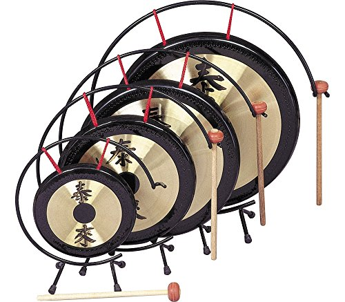 Rhythm Band Oriental Table Gongs 12 in. Gong Rb1072