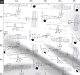 Flugzeug, Flug, Blau, Holli Zollinger, In Großem Maßstab