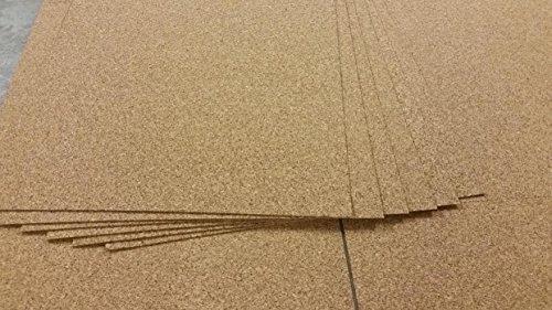 Korkplatte Pinnwand 4mm 100 x 50 cm Kork Platte XXL Format Pinnwandplatte