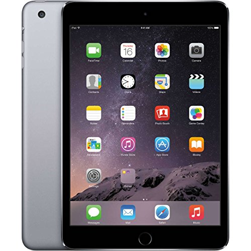 Apple iPad Mini 4-16GB Wifi Space Grey (Renewed)