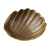 <span class='highlight'><span class='highlight'>Xinxinchaoshi</span></span> Jewellery box Pure Copper Shell Jewelry Plate Jewelry Box Decorative Collectible Organizer Storage Case Ring Trinket Box Gift for Girls Mother