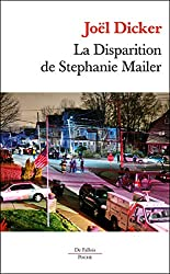 livre La Disparition de Stephanie Mailer