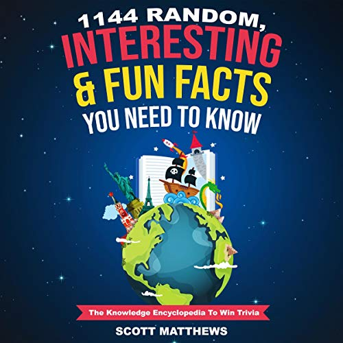 1144 Random, Interesting & Fun Facts You Need to Know: The Knowledge Encyclopedia to Win Trivia cover art