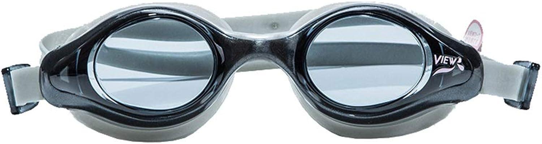 WYNZYYYYJ Damenbrillen, Schwimmbrillen Schwimmkappe Set HD Anti-Fog Big Box Schwimmbrillen Erwachsene Schwimmen Ausrüstung