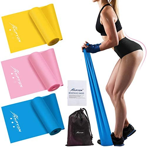 HPYGN Resistance Bands Set Exercise Bands for Physical Therapy Strength Training Yoga Pilates product image