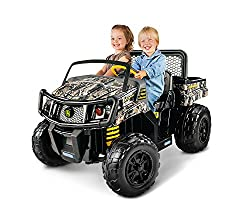 the peg perego john deere gator xuv ride-on can be your choice of power  wheels if your child has a fascination for the military