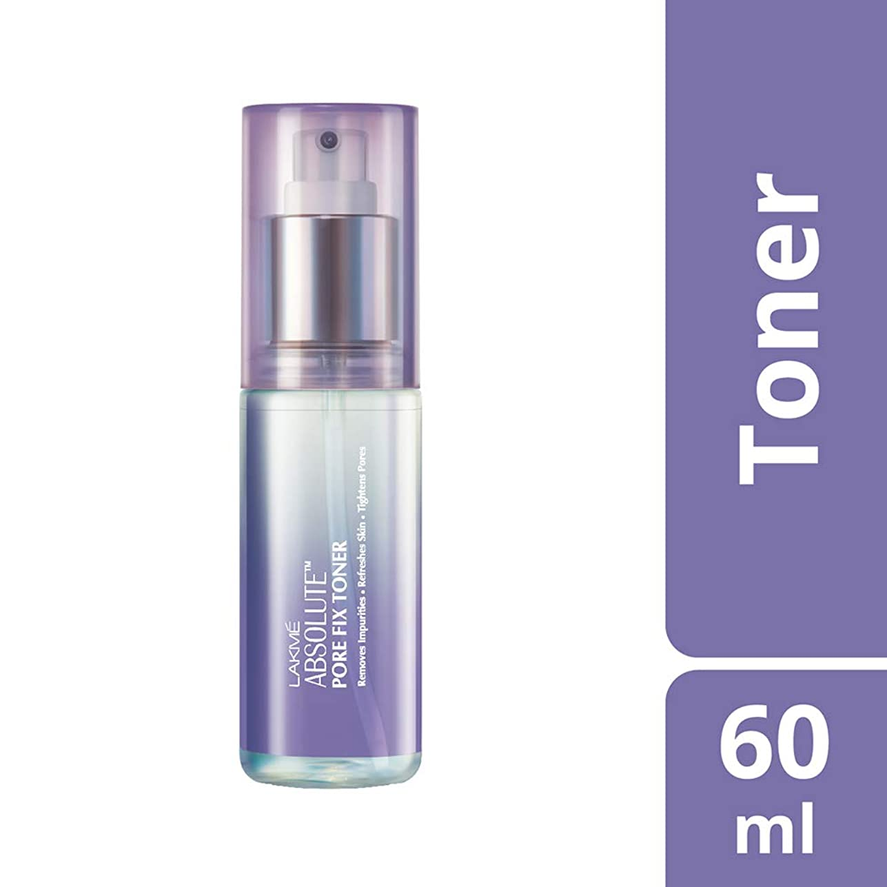 発見つぼみホットLakme Absolute Pore Fix Toner, 60ml