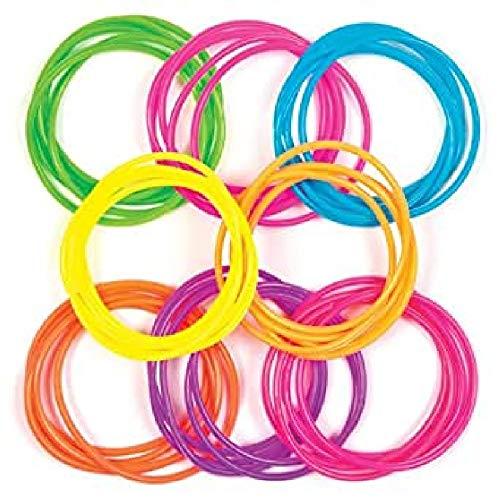 Baker Ross Gummi-Armbänder für Kinder – perfekt als kleine Partyüberraschung für Kinder (40 Stück)