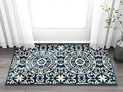 Calm Chaos Multi Green Modern Casual Geometric Easy to Clean Stain Fade Resistant Shed Free Contemporary Abstract Funky Fun Boxes Shapes Lines Swirls Living Dining Room Rug