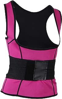 D DOLITY Women Underbust Corset Waist Trainer Cincher Body Shaper Vest Trimmer Belt