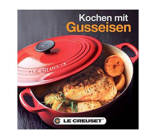 LE CREUSET 98500000000003 Kochbuch Gusseisen deutsch
