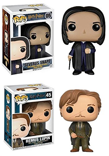 Funko POP! Harry Potter: Severus Snape + Remus Lupin – Stylized Vinyl Figure Set NEW