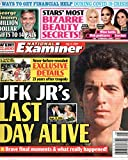 National Examiner Magazine July 13 2020 John F. Kennedy Jr. George Clooney Stars  Most Bizarre Beauty Secrets