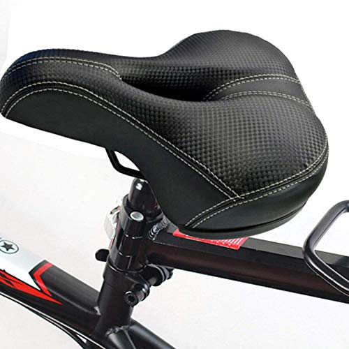 MorNon Asiento de Bicicleta Cómodo y Transpirable Sillín Bicicleta Cojín de Bcicleta Transpirable Cojín Ipermeable Asiento de Bicicleta Unisex para Bicicleta de Ciudad MTB Bicicleta de Carretera
