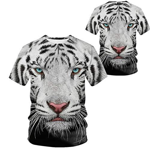 Camiseta para Hombre,Hip Hop Camisetas Impresas En 3D De Gran...