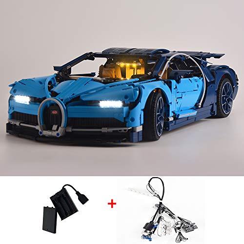 LODIY Beleuchtung Licht LED Beleuchtungsset für Lego 42083 Technic Bugatti Chiron (Nicht Enthalten Lego Modell)
