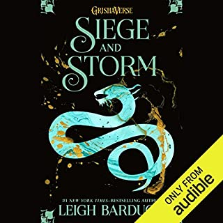 Siege and Storm                   Written by:                                                                                                                                 Leigh Bardugo                               Narrated by:                                                                                                                                 Lauren Fortgang                      Length: 11 hrs and 49 mins     32 ratings     Overall 4.1