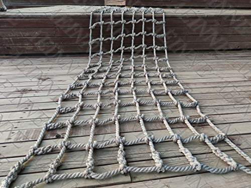 Why Should You Buy Cargo Climbing Net for Playset,Safety Climbing Net Frame Climb Netting Kids Outdo...