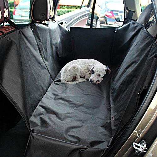 TTXP Cama de Perro Plastico Negro Artículos para Mascotas para Perros Protector de Asiento de Coche para Perros Fundas de Asiento para Perros
