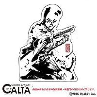 CALTA-ステッカー-へのへのもへじ侍 (1.Sサイズ)