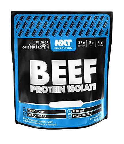 NXT Nutrition Beef Protein 600g (Orange)