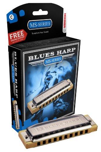 Hohner Inc. Mundharmonika 532BX-A Blues Harp b mehrfarbig