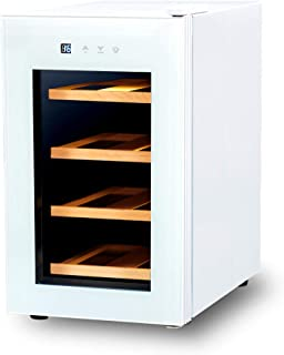 PlusQ/プラスキュー ワインセラー 8本収納 日本メーカー製ペルチェ採用 コンパクトモデル BWC-008P(W) ホワイト
