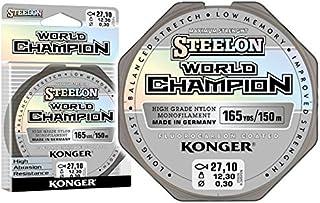 Konger Angelschnur World Champion Fluorocarbon Coated 0,10-0,30mm/150m Monofile Schnur super stark !
