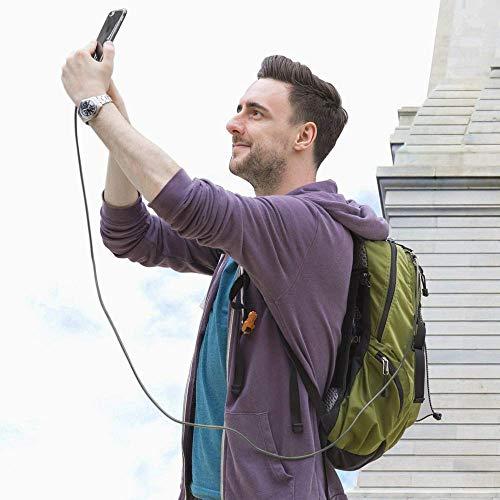 Anker Powerline+ 0.9m USB C Kabel auf USB 3.0 A, Beständig für USB Typ-C Geräte Inklusive Galaxy S8, S8+,S9, MacBook, Sony XZ, LG V20 G5 G6, HTC 10, Xiaomi 5 und weitere (Grau)