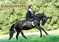 Dirndlpferde (Wandkalender 2022 DIN A3 quer): Wunderbare Dirndl und besondere Pferde (Monatskalender, 14 Seiten )