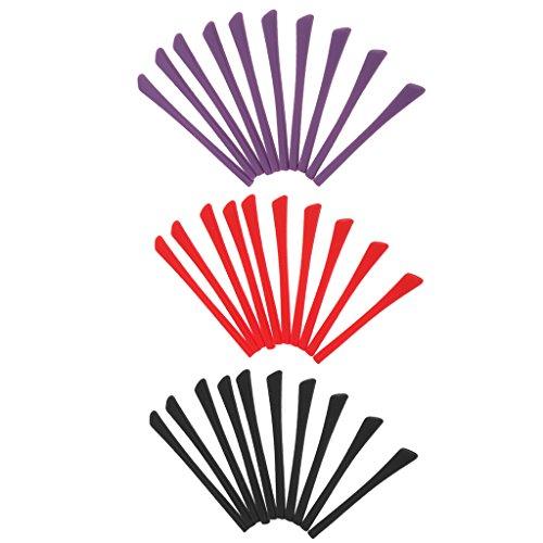 Baoblaze 100x Patillas de Silicona para Gafas Antideslizantes Titular para Gafas Funda Protectora para Anteojos - 30pcs