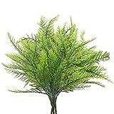DWANCE 4PCS Falsa de Helecho Plantas Artificial Arbusto Verde Decorativas...