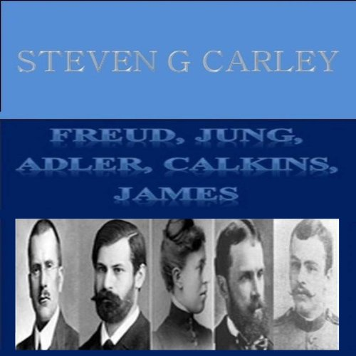 Freud, Jung, Adler, Calkins, James Titelbild