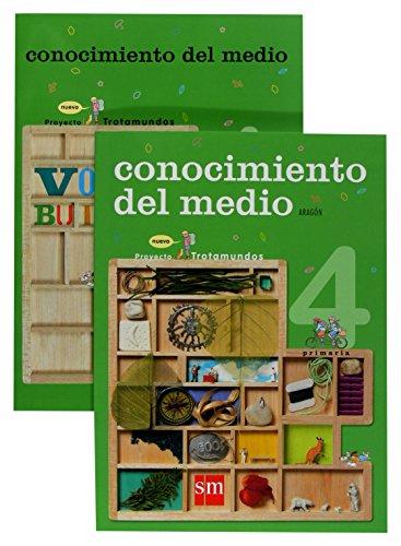 Conocimiento del medio. 4 Primaria. Nuevo proyecto Trotamundos. Aragón - 9788467523652