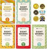 500+ Sight Words Flash Cards Bundle Kit (Preschool, Kindergarten, 1st, 2nd & 3rd Grade)
