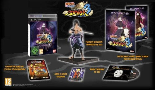 Naruto Shippuden Ultimate Ninja Storm 3: True Despair Collector's Edition [Playstation 3, PS3] New
