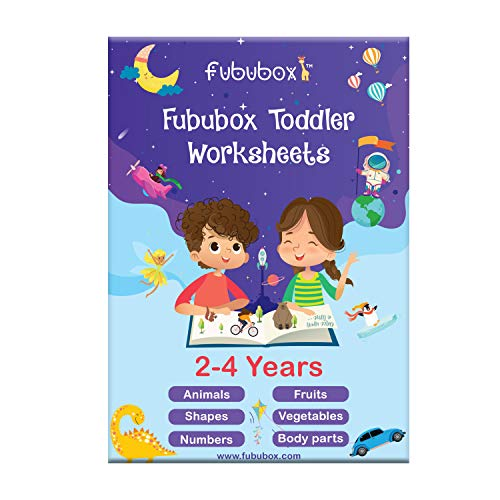 Fububox Worksheets Box 2 to 4 Years, learning activity for kids