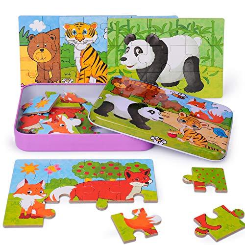 Puzzles Rompecabezas Tigre