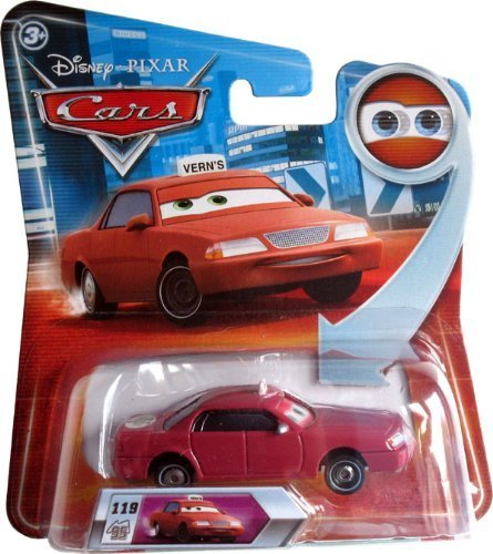 Disney Pixar Cars - 1:55 Scale Diecast - Lenticular Series 2 - VERN with Changing Eyes by Mattel