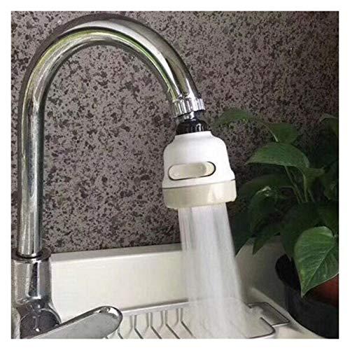 Accesorios para grifos 3 Modelos Anti-Splash Faucet Filter Tip Pulverizador de la cocina Tap Strainer Strainer Water Economizer Faucet Hogar Accesorios Accesorios para fregaderos ( Color : White )