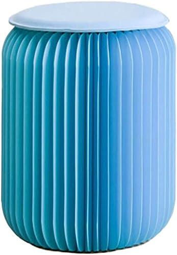 Blau Falten niedrig Schemel Stuhl Multifunktion M l Kraft Papier Material Keine Montage erforderlich