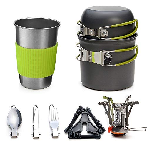 Portable Super Light Set Vajilla De Excursion Al Aire Libre Menaje Cocina...