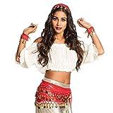 Boland 00458 - Disfraz de Gypsy, Color Rojo