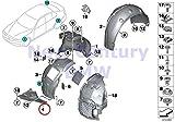 BMW Genuine Wheelarch Trim Deflector Lip Right 428i 428iX 435i 435iX 428i 428iX 435i 435iX 428i 428iX 435i 435iX
