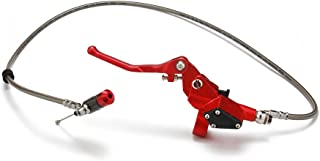 Manguera de embrague hidráulico JFG RACING con palanca y cilindro maestro de 1200 mm para motocicletas 125 cc, 250 cc y motos de cross